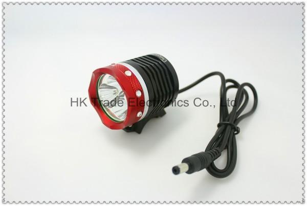 UniqueFire 5000 Lumens 3x CREE XML XM-L2 LED Bicycle Bike Cycling Head HeadLamp Lamp HeadLight 6600mAh Battery light (012 Red)~<br><br>Aliexpress