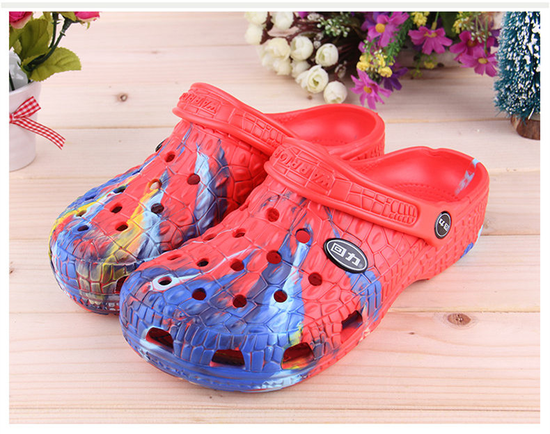 Camouflage Summer Mens Slippers Clogs Mules Eva Light Beach Garden Shoes Man Fashion Breathable Sandals Zapatos Hombre Outdoor