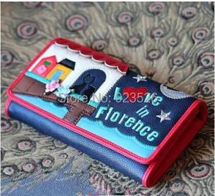 2014 braccialini wallet brand new genuine creative lovers fine fashion tide wild lady purse bag gift - TOPCAT- store