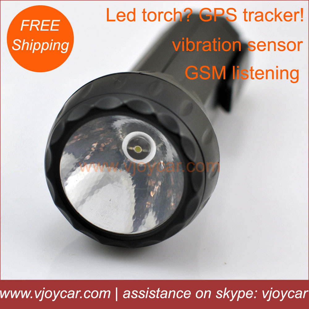 The most special personal GPS tracker,common LED torch light design,no one will know it's a tracking device(China (Mainland))