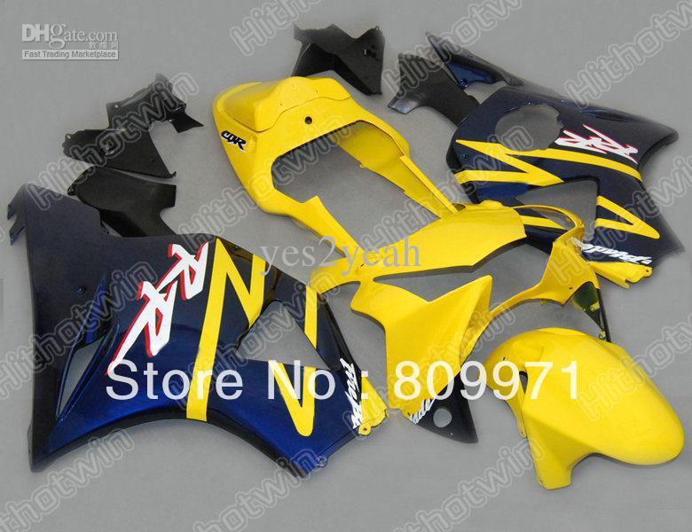 H618 Yellow Blue Full Fairing CBR900RR 02 03 CBR-900RR 2002 2003 CBR 900RR 954 200 - Sunrise Motorcycle Co. Ltd store