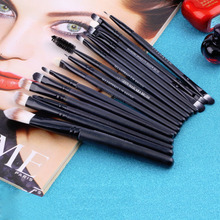 15 pcs/Sets Make Up Brush Set Eye Shadow Foundation Eyebrow Lip Brush Makeup Brushes Tools Cosmetic Kits Hot Worldwide