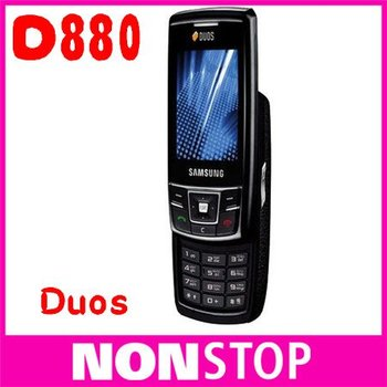 D880 Original Samsung D880 Duos Dual SIM Cards Unlocked Cell Phone 1 Year Warranty Refurbished