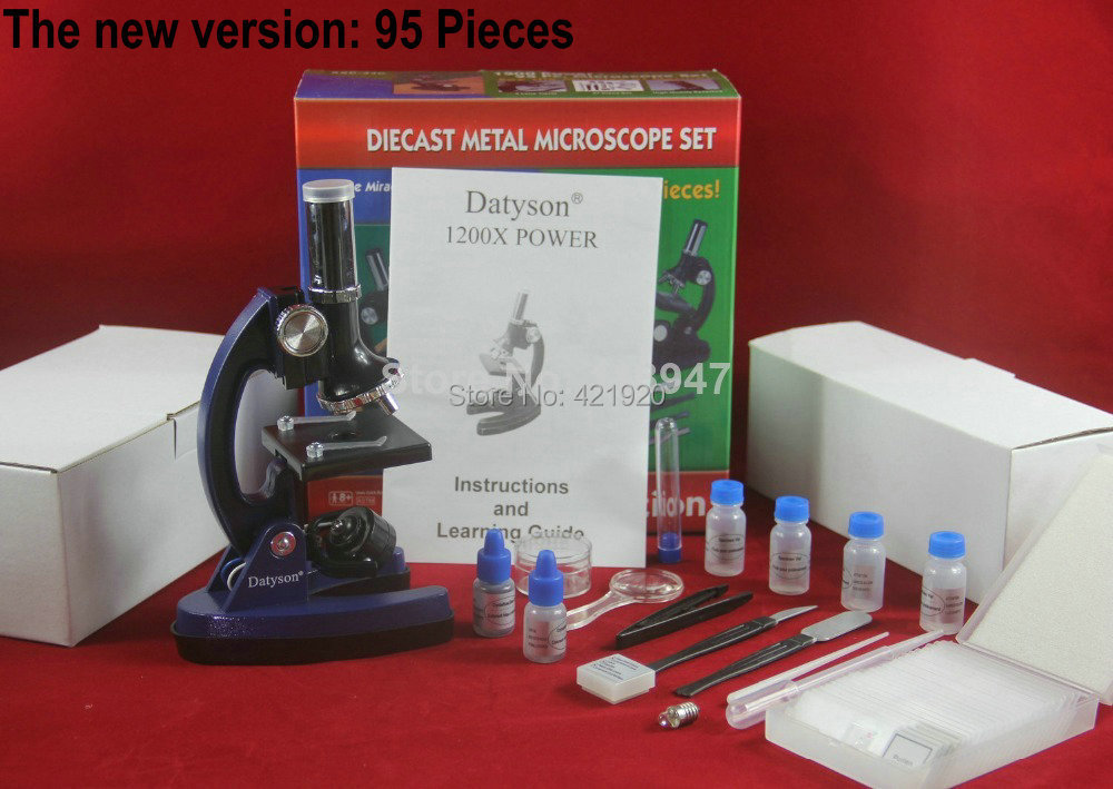 Гаджет  Top Quality Datyson 1200x Microscope with 28 Piece Kit(Alloy Material) for Students kids education.Nice present / gift None Инструменты