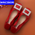 2017 New Women Genuine leather Shoes Moccasins Mother Loafers Soft Leisure Ballet Flats Female Driving Casual