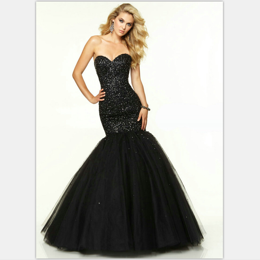 Online Buy Wholesale black sparkly prom dresses 2016 from China ...