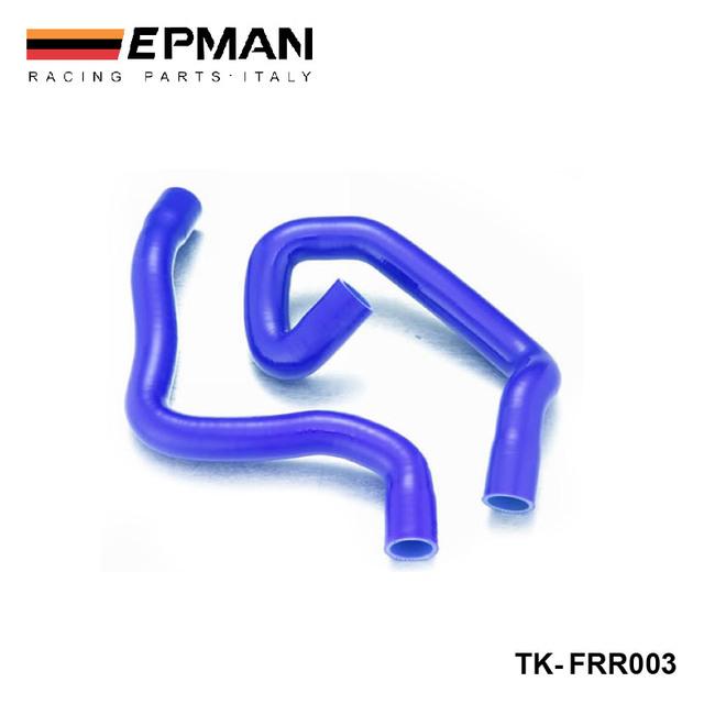 EPMAN-Silicone Intercooler Turbo Radiator Heaster Hose kit For Ford Focus Duratec 1.8/2.0 04 - 08+(2pcs) TK-FRR003