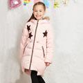 New 2016 Winter Jacket Girls down coat child down jackets duck down long design flower coats