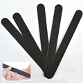 10 pieces Black nail styling tools grinding nail file buffer Beauty manicure UV gel polish nail