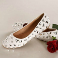 Crystal Wedding Dress Shoes Flat Heel High Heel Bridal Dress Shoes Banquet Party Prom Shoes Nice