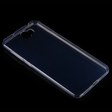 Buy Soft Silicone Clear TPU Cubierta Cases Huawei Y6 II Compact / Y6II Y6 2 Compact Phone Housse Transparent Silicona Back Cover for $1.26 in AliExpress store