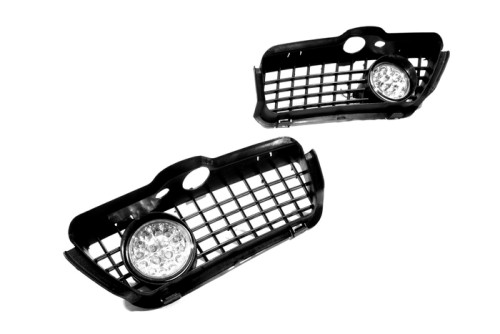 New Car accessories car Front fog lights Kit (Red LED) for Jetta / Vento MK3(China (Mainland))