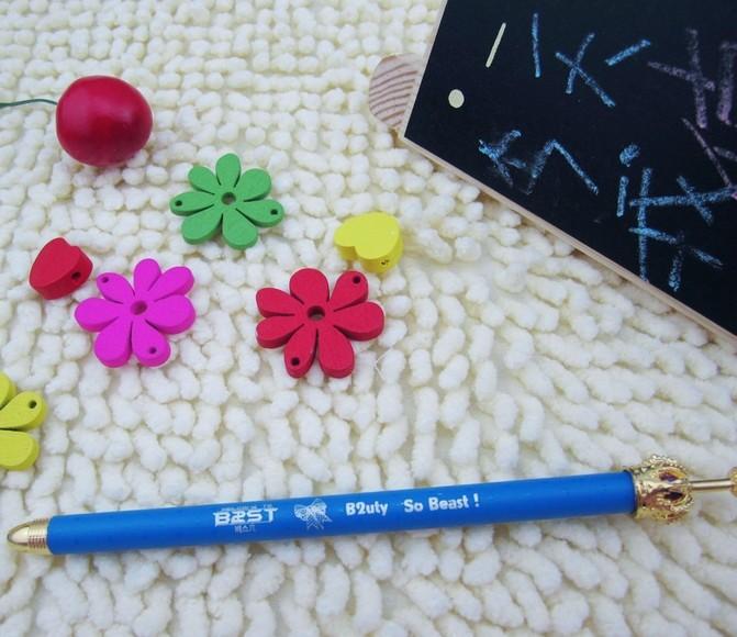 K-pop Beast best B2ut so best pens KPOP crown pen ...