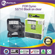 Buy 24mm label tapes black clear compatible dymo D1 53710 24MM*7M free high for $16.48 in AliExpress store