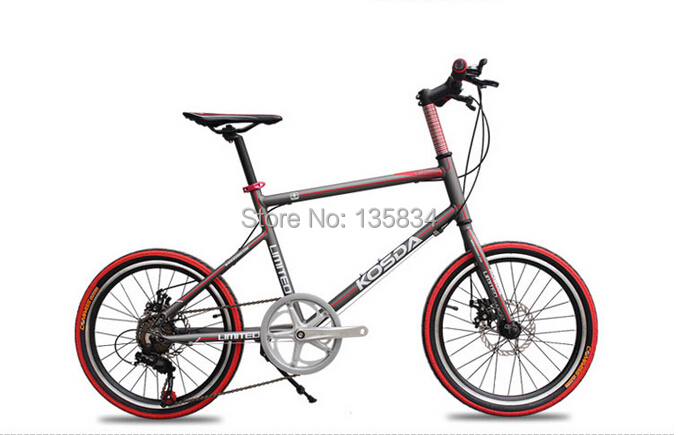 """New 2014 Hot 20"""" City Mini Bike for Student Girl Mini Bicycle 7 Speeds Bicicletas for Teenager B39 KSD bycycle children bicycle(China (Mainland))"""