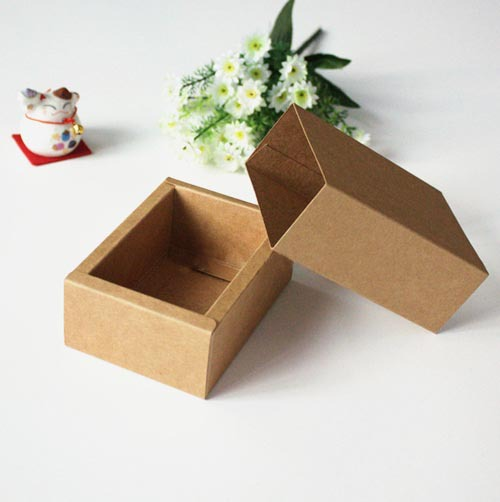 10 DIY Drawer Kraft Packaging Paper Box 10.8*7.8*4.2CM - Ningbo Huahui Co.,ltd store