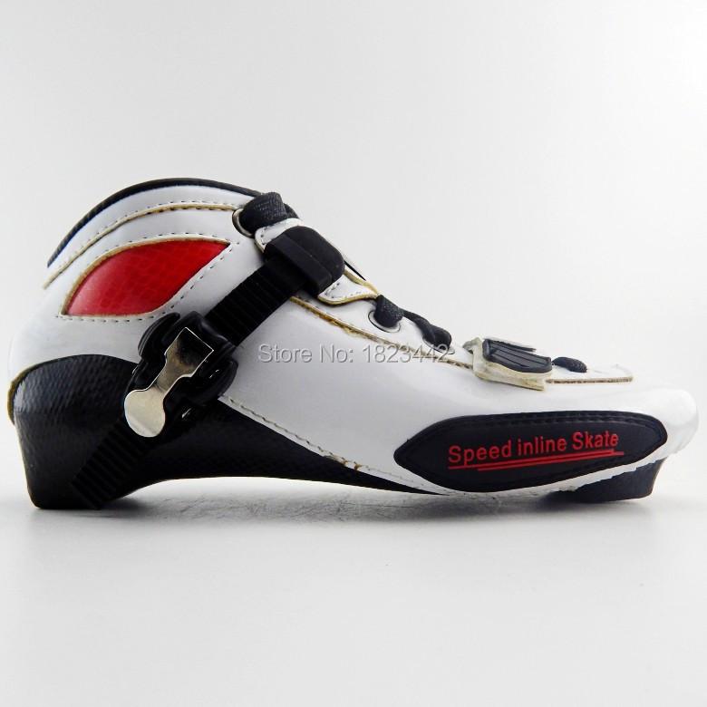 Professional Adults Inline Speed Skates Shoes Heelys Roller Skate CARL Speed Skate Patins Roller Skate(China (Mainland))