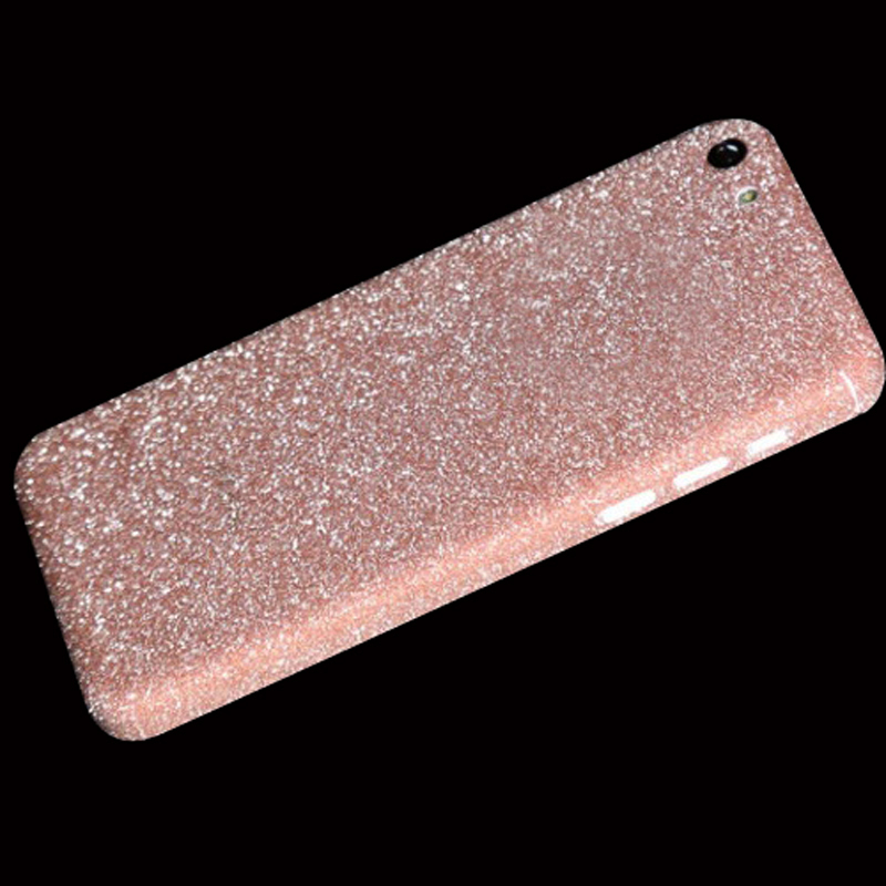 Full Body Protection Glitter Bling Sticker Case iPhone 5C Strass Coque Luxury Shining Skin Cover iPhone5C Funda - ShenZhen JS Co., Ltd store