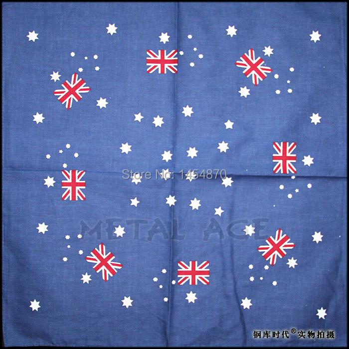 Cool Fashion Australian Flag Headband Hair accessories Bandanas Rock Live Riding hood Punk Kerchief Hip hop skateboard(China (Mainland))