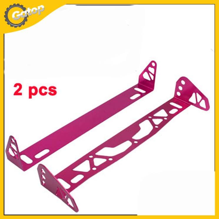 Car License Plate Frame Holder car holder bracket in Magenta 24.7*5.8*3.7cm made of metal free shipping(China (Mainland))