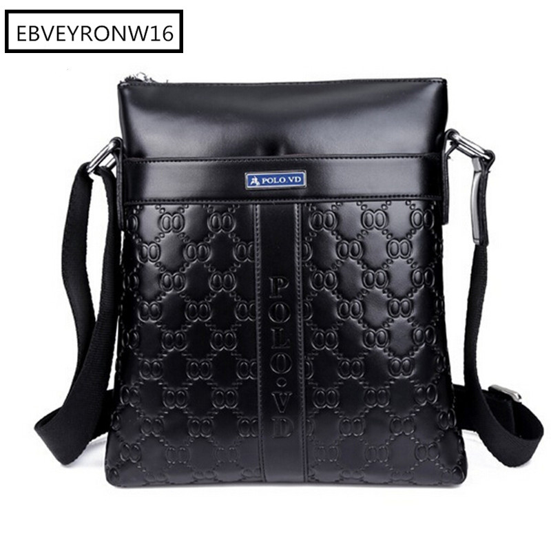 Men's Messenger Bags Fashion Brand Design Top Leather Crossbody Shoulder Bags Male Business Briefcase For Husband AW320-652(China (Mainland))