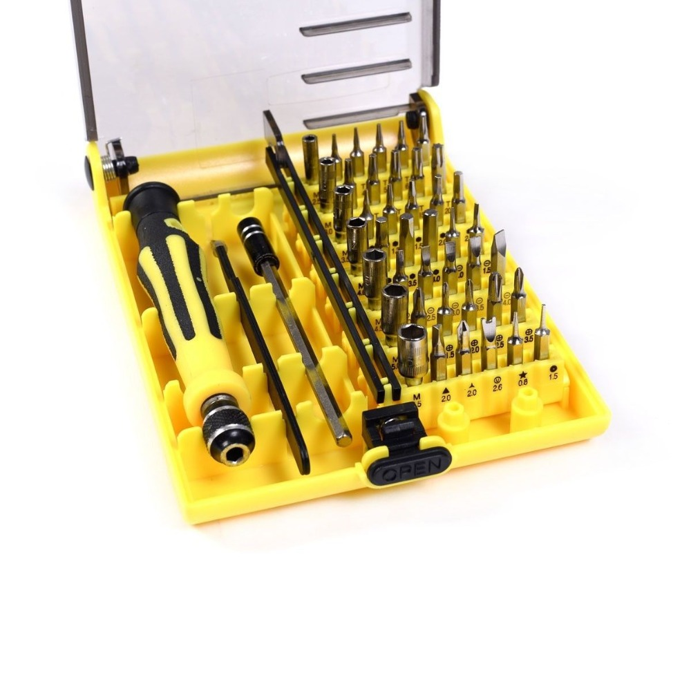 45 in 1 precision screwdriver set for iphone apple ipad laptop pc repair tool kit nd00272 in. Black Bedroom Furniture Sets. Home Design Ideas