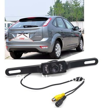 Waterproof Car vehicle Rear View reverse Camera Back Up IR cam night vision Free Shipping