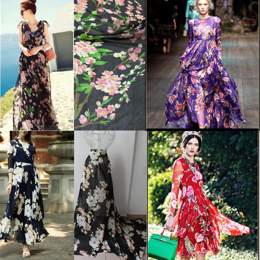 Платье из ткани 3d
