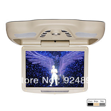 12.1 Inch Roof Mount Car DVD Player with TV FM Transmitter Free Headphones