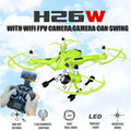 2016 New JJRC H26 H26W 2 4G 4CH 6 Axis Gyro Wifi FPV RC Quadcopter Real