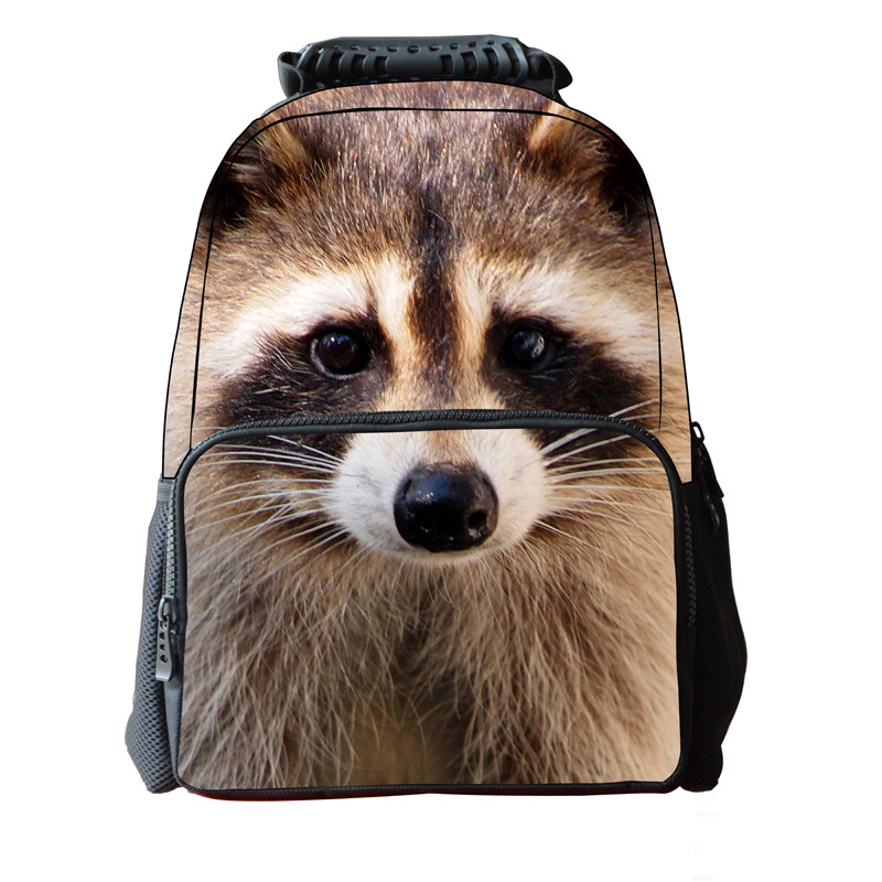 new 2015 hot sale print felt backpack for children best selling bags with unique design 3D animal shaped backpack free(China (Mainland))