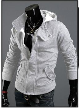 Plus size Sports Hooded Jacket Casual Winter Jackets  Mens Special Hoodie Jacket Coat   size /M L XL XXL XXXL/700-W04