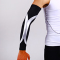 Sports Elbow Pads Elastic Warmers Long Arm Sleeve Of Basketball Support Arm