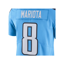 Men's Marcus Mariota #8 DeMarco Murray #29 Light Blue Color Rush Limited Jersey embroidery Logos Free Shipping(China (Mainland))