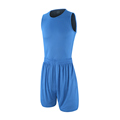 2 pieces lot High Quality Double Side Basketball Jerseys Reversible Sport Sets Gym Sleeveless Shirt