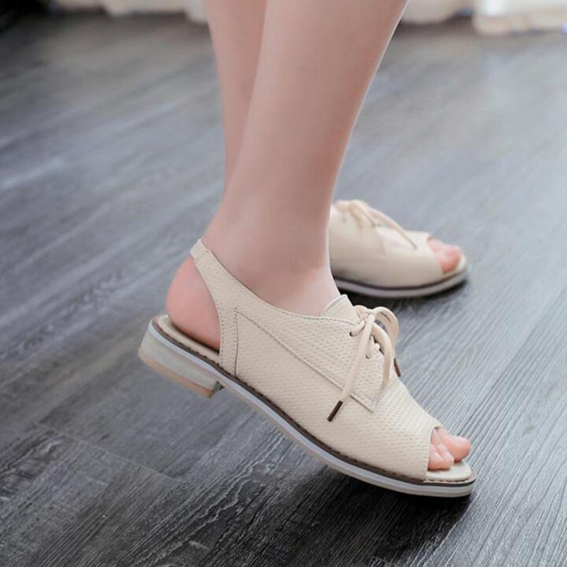 Plus Size Casual Women Flat Sandals Comfort Summer Women Shoes Sandals Slip On Shoes For Women(China (Mainland))