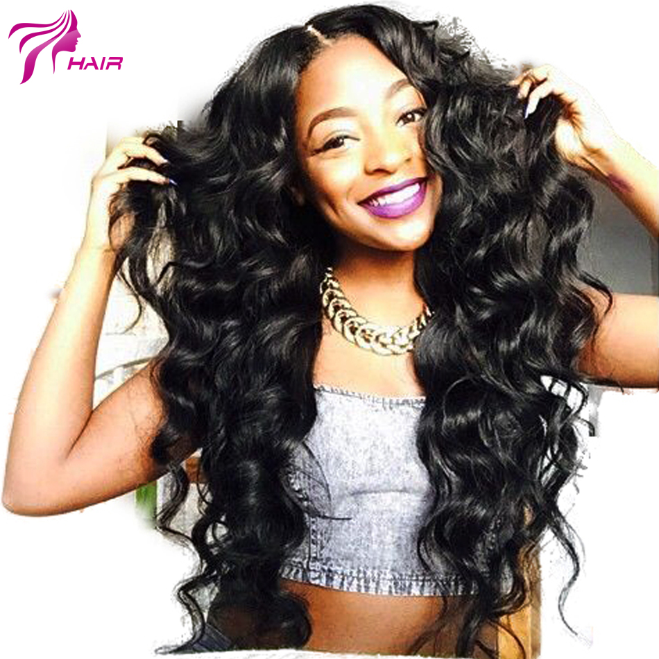 Гаджет  6A Virgin Hair Brazilian Wig Glueless Body Wave Brazilian Lace Front Human Hair Wigs With Baby Hair For Black Women Middle Part None Волосы и аксессуары