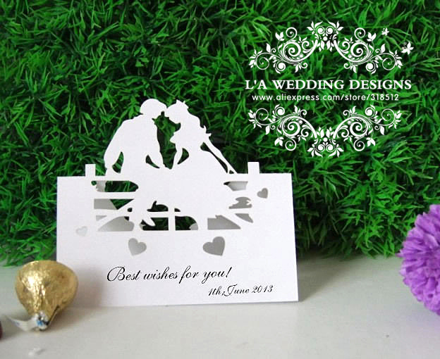 Unique Wedding Gifts 2014 : .com : Buy 2014 Personalized Bridal and Groom Laser Cut Wedding ...