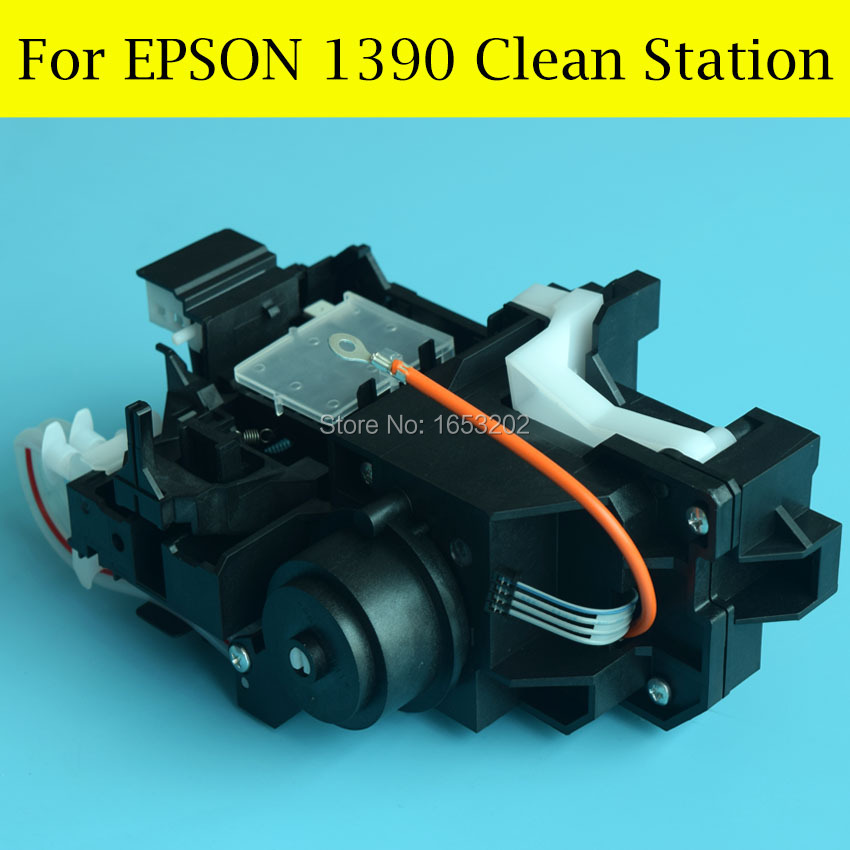 1 PC Original Capping Station+ Pump Assembly For EPSON 1400/1390 Printer