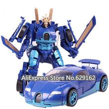 Hot Sale! Transformation Optimus Prime Bumblebee Megatron Grimlock. Action Figure Educational Deformation Robot Toys.(China (Mainland))