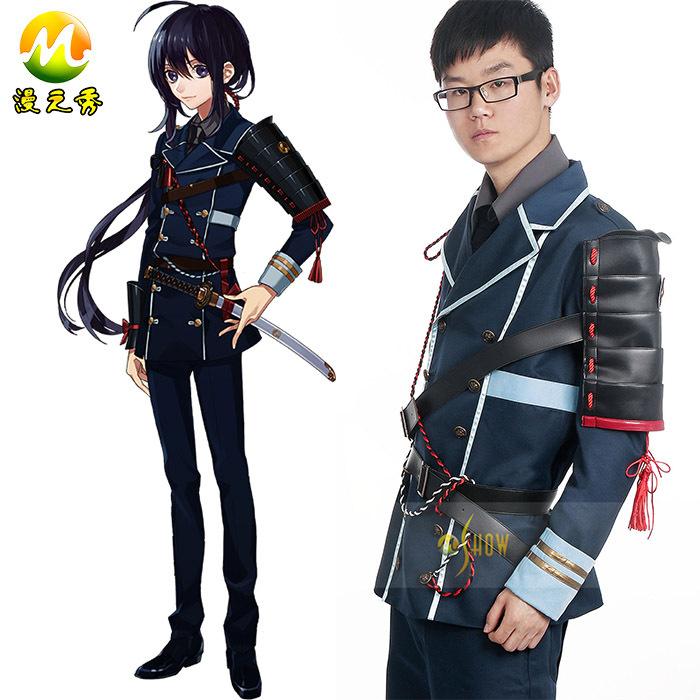 Custom Made Hot Game Touken Ranbu Namazuo Toushirou Cosplay Costume Adult Men Game Cos Clothing SuitsОдежда и ак�е��уары<br><br><br>Aliexpress
