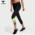 Hot Women s Yoga 3 4 Pants Sports Fitness Running Compression Tights Slim Training Leggings mallas