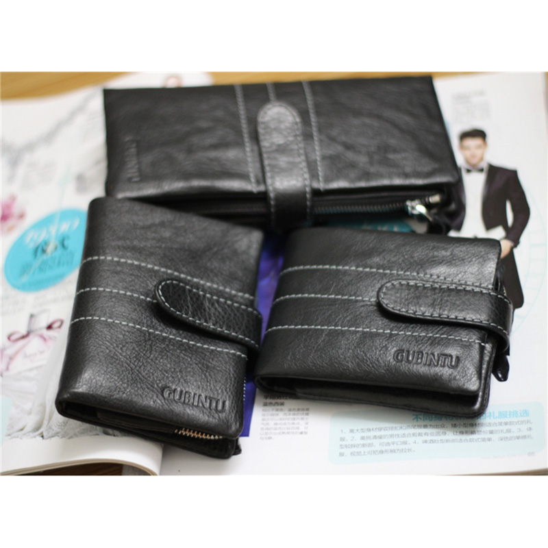 First layer of leather men zipper Hasp multi function 18 Card Wallet Mobile phone bag leather wallet # L09696(China (Mainland))