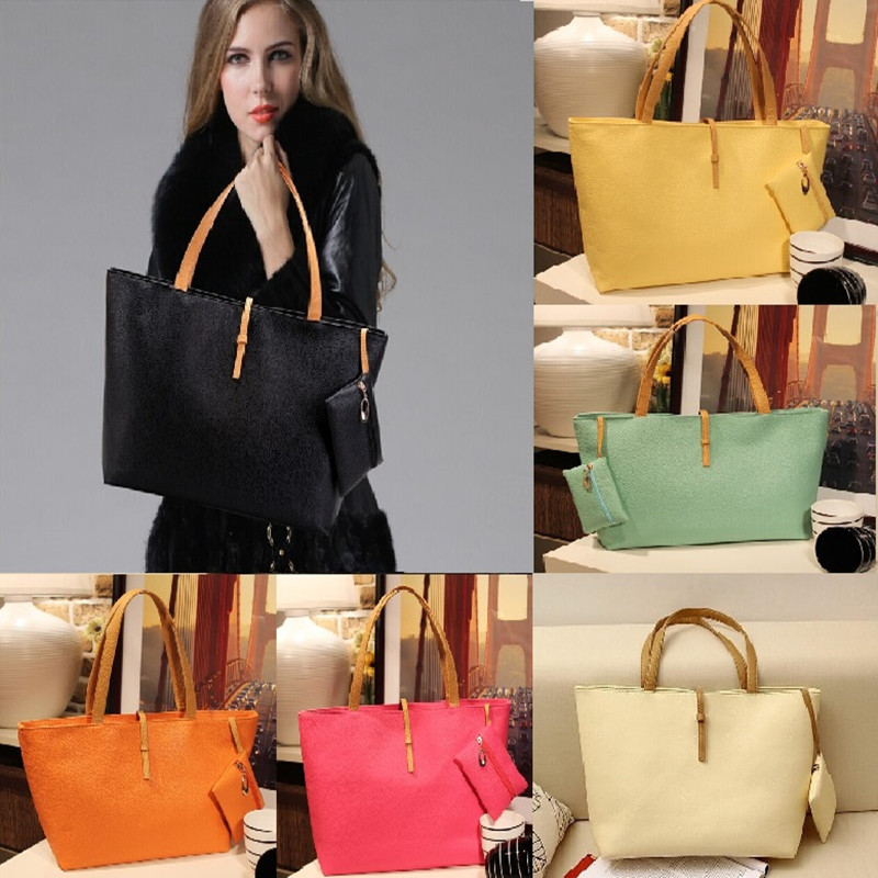 2015 Brand Desigh Women PU Leather Tote Shoulder Bags Hobo Handbags Satchel Messenger bag Purse High Quality Free Shipping n751(China (Mainland))