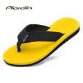 plardin 2017 New outdoor Fashion Candy Color Mens Flip Flops Flats Shoes Summer Comfortable soft Beach