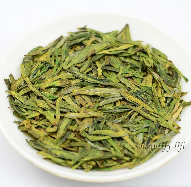 Famous Good quality Dragon Well 2015 Spring Longjing Green Tea 250g Long Jing tea tender aroma