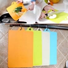 1 PCS 24x34.9cm Fruit Chopping Board Chopping Block Plastic Cutting Board Cutting Board Antibiotic Kitchen Utensils(China (Mainland))