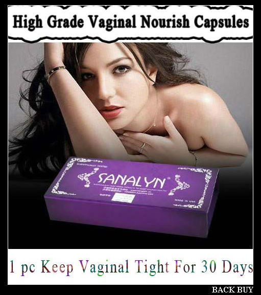 1pc/box, Brand SANALYN Women Vaginal Nourish Capsules,High Grade Female Koro Products,Pure Plant Medicine Vaginal Repair,BB372