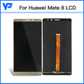 For Huawei Mate 8 LCD Display Touch Screen Digitizer Frame Full Assembly Replacement Warranty Free Shipping