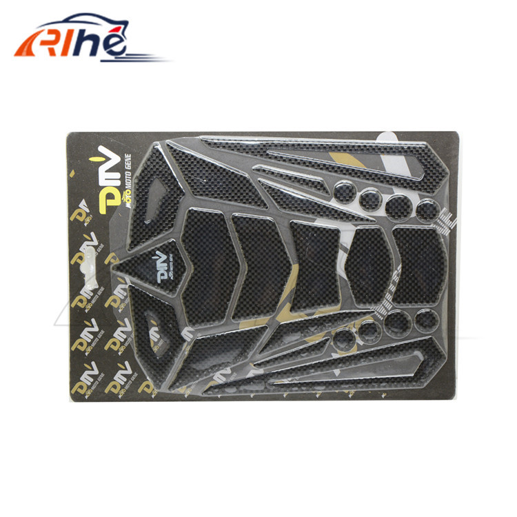 Фотография Hot Selling motorcycle oil tank sticker 3M carbon fiber tank stickers motorcycle parts fit for DUKATI 916 MONSTER M750 DMV